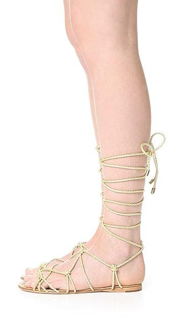 Schutz Kathleen Wrap Sandals
