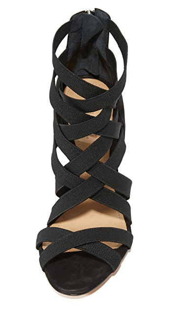 Schutz Stanly Strappy Sandals