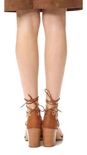 Schutz Zion Wrap Sandals