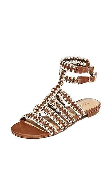 Schutz Lorena Flat Sandals