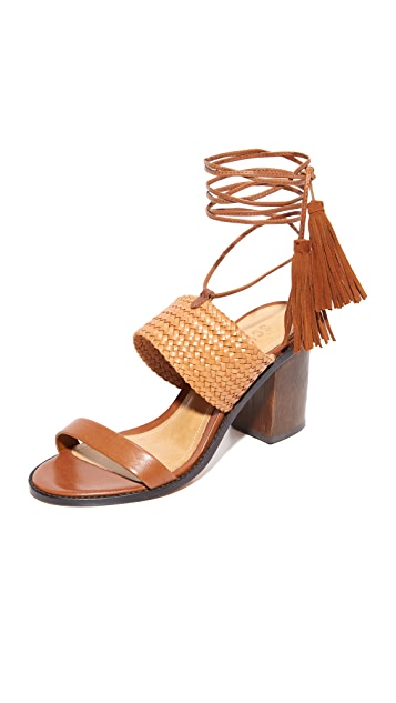 Schutz Luky Wrap Sandals ...