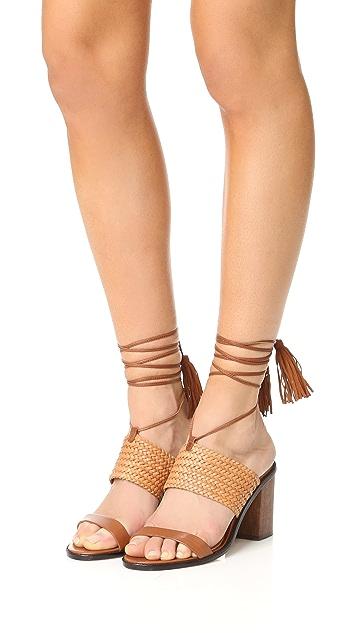 Schutz Luky Wrap Sandals