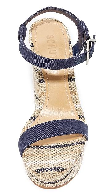 Schutz Marlan Platform Sandals