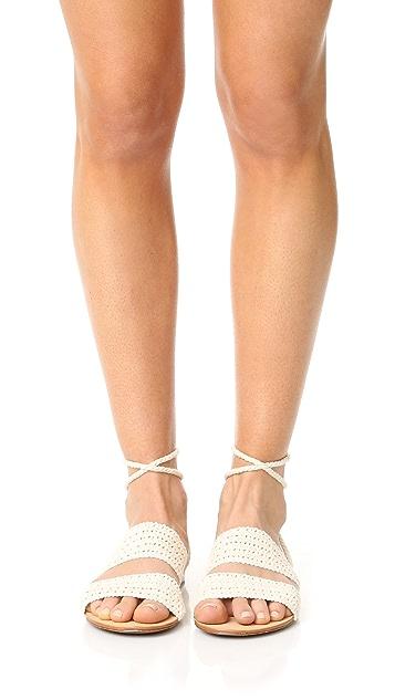 Schutz Zendy Wrap Sandals
