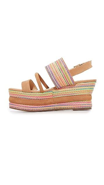 Schutz Natalya Flatform Sandals