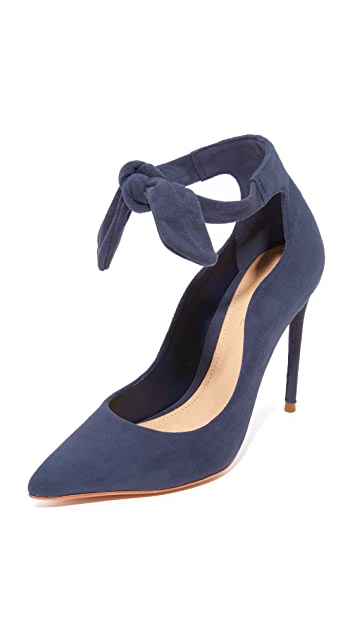 Schutz Delza Tie Pumps - Sailfish