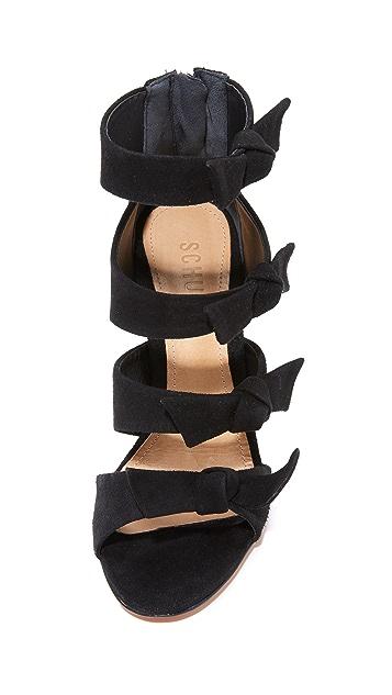Schutz Miranda Bow Sandals
