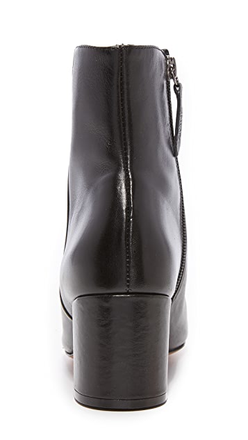 Schutz Lupe Stacked Ankle Booties