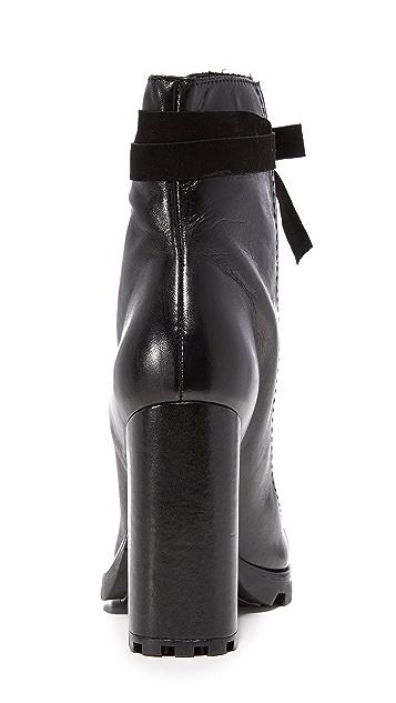Schutz Lisie Bow Platform Boots