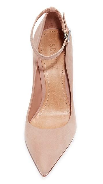 26b9d129c22 ... Schutz Thaynara Ankle Strap Pointed Heels ...
