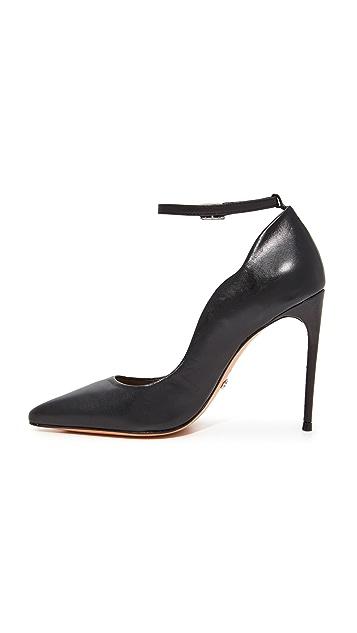 Schutz Thaynara Ankle Strap Pointed Heels