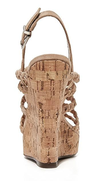 Schutz Abigally Wedge Sandals