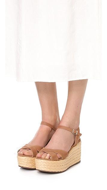 Schutz Keisi Platform Sandals
