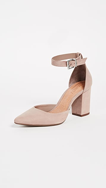 Schutz Ionara Ankle Strap Pumps - Neutral