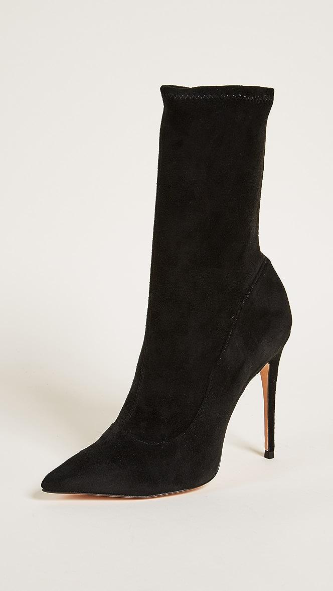 SCHUTZ Womens Mislane Point Toe Boots