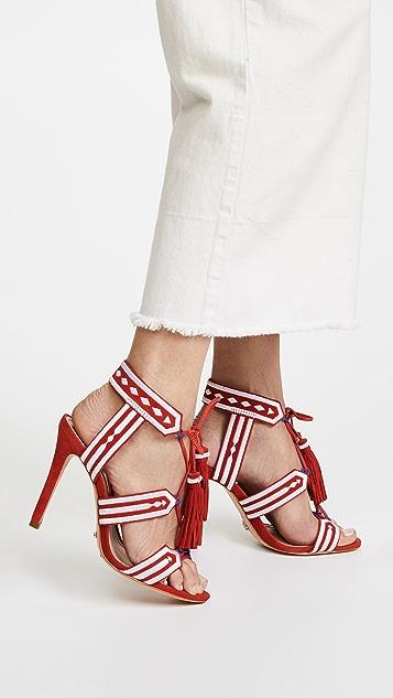 Schutz Eurica Wrap Sandals