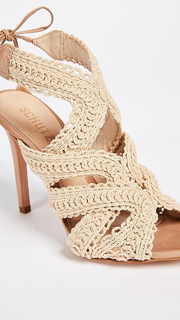 Schutz Glaucia Strappy Sandals