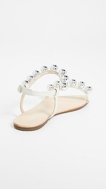 Schutz Hebe Ankle Strap Sandals