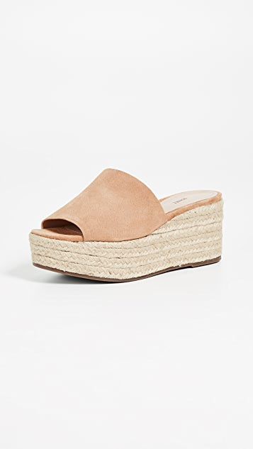Thalia Flatform Sandals by Schutz