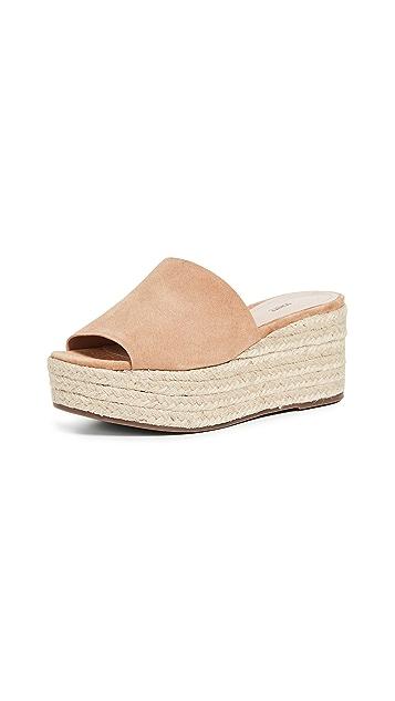 Schutz Thalia Flatform Sandals