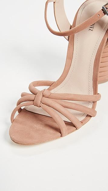 Schutz Paolla Ankle Strap Sandals