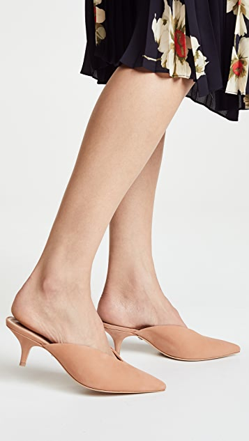 Schutz Alanna Point Toe Mules