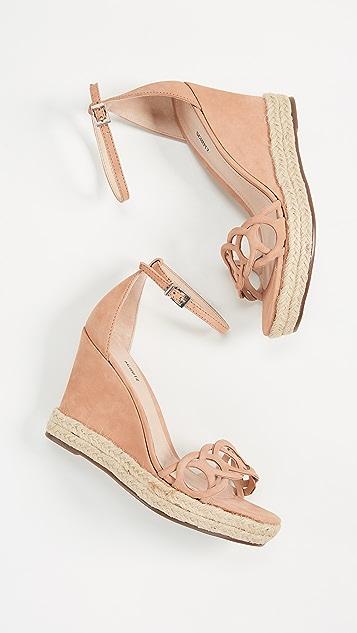 Schutz Keira Wedge Sandals
