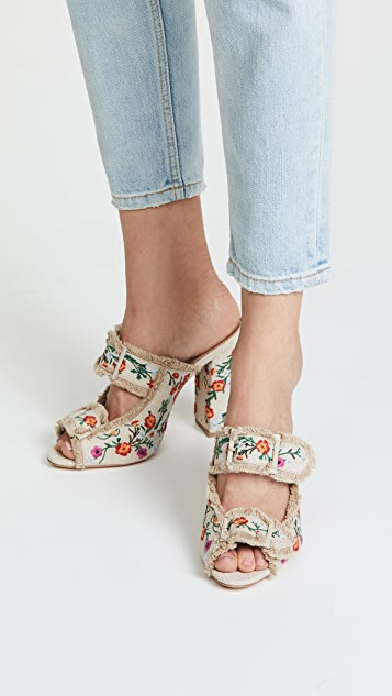 Schutz TCherri Block Heel Sandals