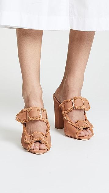 Schutz Sabriely Block Heel Sandals