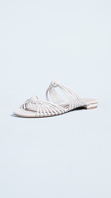 Sale alerts for  Nitiely Strappy Flat Slides - Covvet