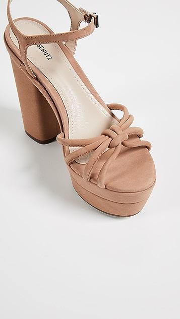 Schutz Faubina Platform Sandals