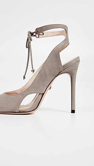 Schutz Sharon Point Toe Strappy Pumps