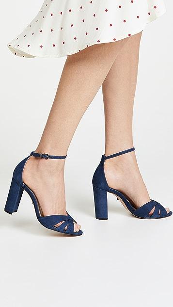 Schutz Alzira Block Heel Sandals