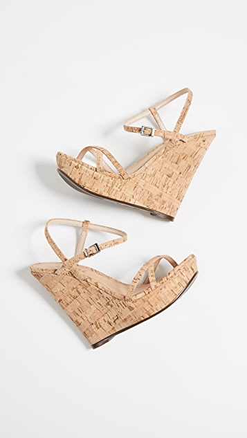 Schutz Auria Wedge Sandals