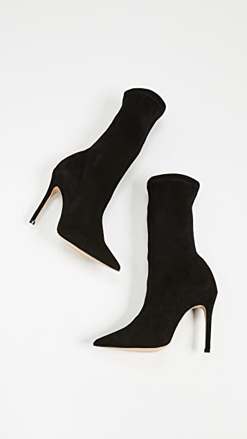 Schutz Krysta Point Toe Booties