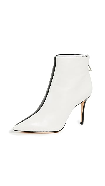 Schutz Avory Colorblocked Booties