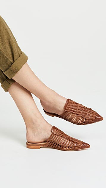 Schutz Rosalyn Point Toe Mules