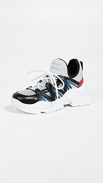Schutz Multicolor Sneakers