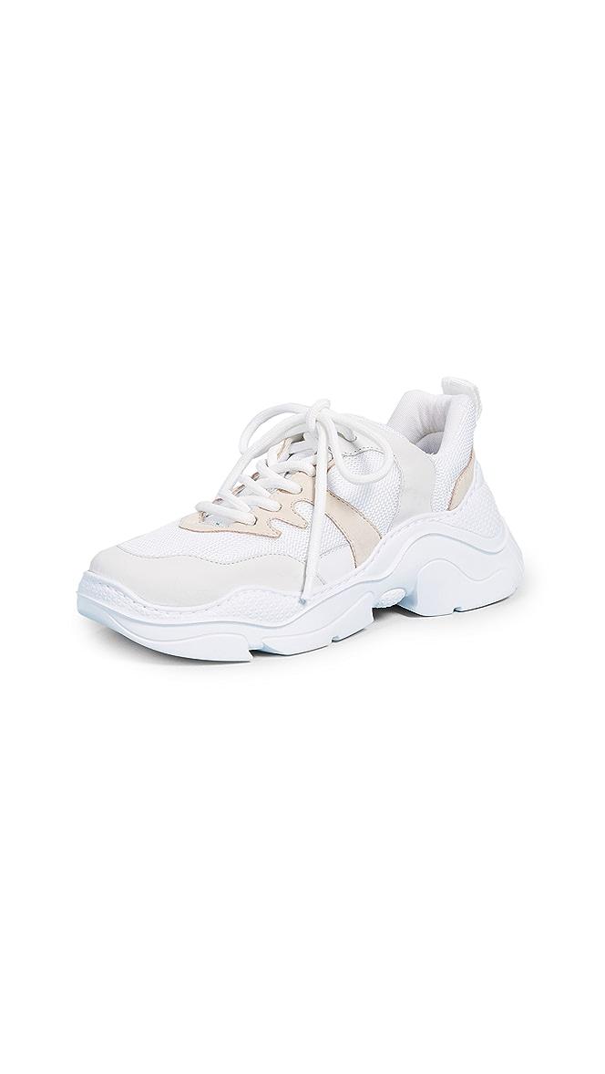 Schutz Lace Up Sneakers | SHOPBOP