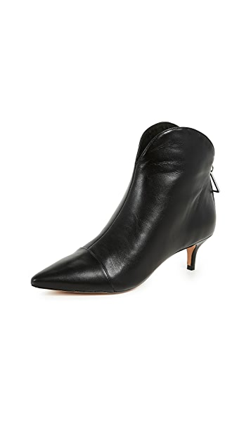 Schutz Rosyen Point Toe Booties