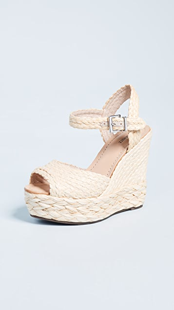 Schutz Belatrix Espadrille Sandals