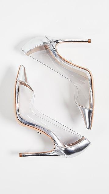 Schutz Виниловые туфли-лодочки Cendi с остроконечным мыском