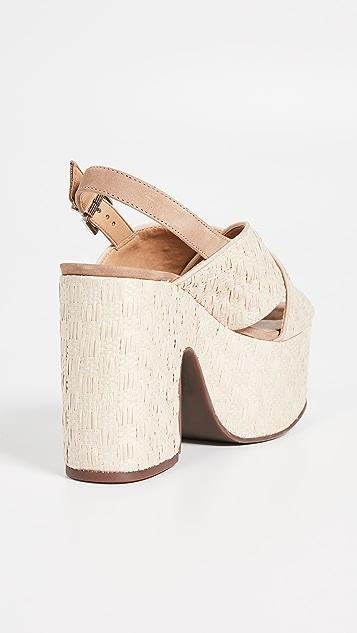 Schutz Kallina Platform Sandals