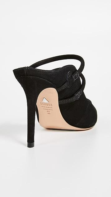 Schutz Twila 尖头穆勒鞋