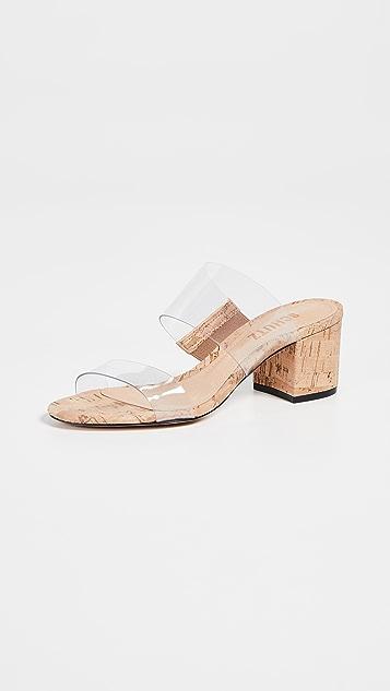 4cacf737032 Victorie Double Strap Vinyl Sandals