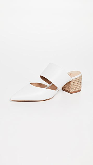 Schutz Deliana Point Toe Mules