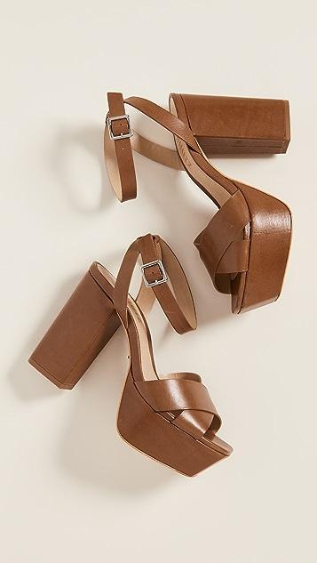 Schutz Saphire Platform Sandals