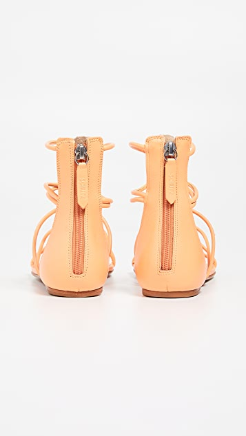 Schutz Fabia Strappy Sandals