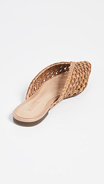 Schutz Badria Point Toe Mules