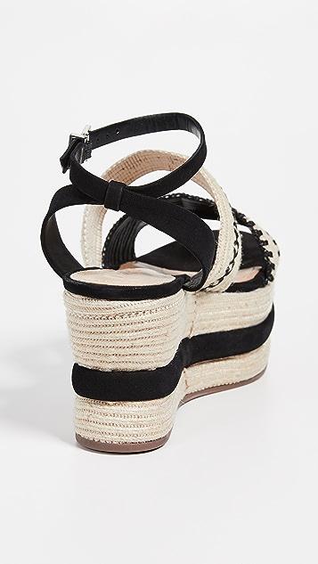 Schutz Denes 厚底编织鞋